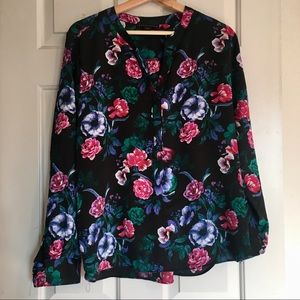 Attention | ladies flower blouse